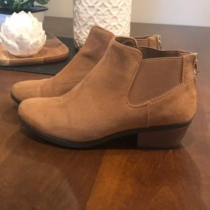 """""""Call It Spring"""" Brown Booties"""